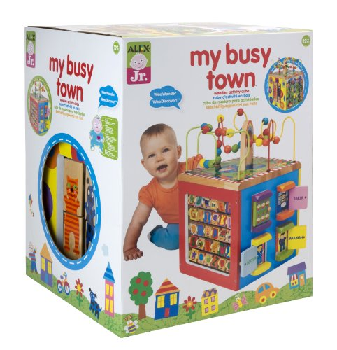 ALEX Toys ALEX Jr. My Busy Town Activity Center