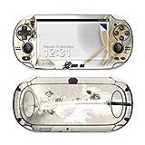 Katana Gold Design Protective Decal Skin Sticker (High Gloss Coating) for Sony Playstation PS Vita Handheld