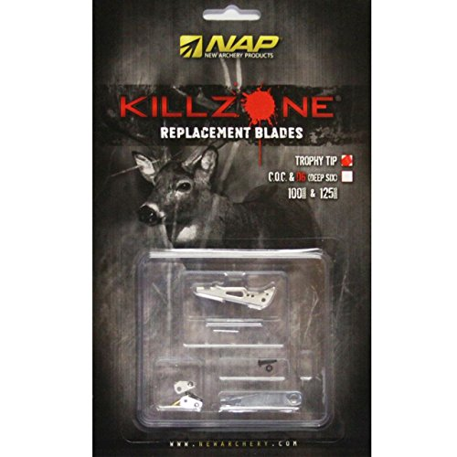 NAP KILLZONE 100 2 in. TROPHY TIP REPLACEMENT BLADES (6 PACK) #60-598 (Nap Killzone Replacement Blades compare prices)