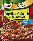 Knorr Fix Paprika -Gulasch Zigeuner Art Sauce Mix- 1 pc