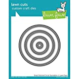 Lawn Fawn Small Stitched Circle Stackables Custom Craft Dies LF796