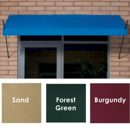 Sunsational Designer Awning - 8 Foot - Pacific Blue (Pacific Blue) (8' Long)