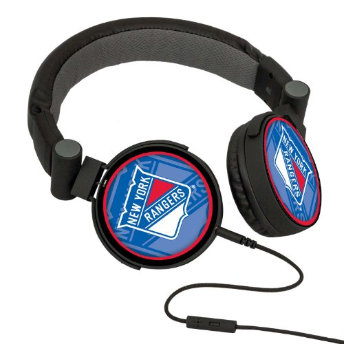 Nhl New York Rangers Oversized Logo Headphones