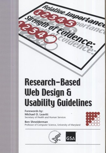 Research-Based Web Design and Usability Guidelines