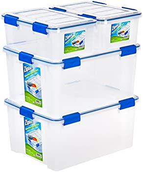 Ziploc Weathertight Storage Bin 4-Piece Set