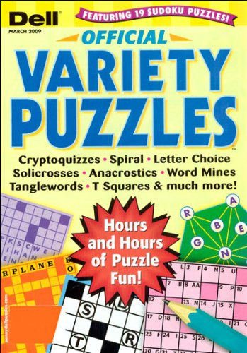 depends subject variety puzzles cryptoquizzes anacrostics solicrosses dell variety puzzles