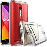 ASUS ZenFone 2 (5.5 Inch) Case - Ringke FUSION ***Earphone Hole Dust Cap & Drop Protection*** ENHANCED AND REVISED...