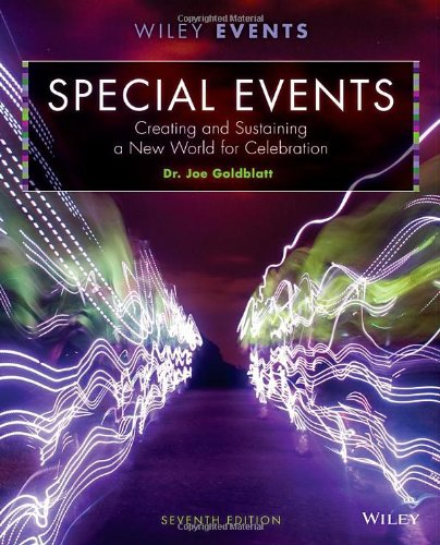 Special Events: Creating And Sustaining A New World For Celebration