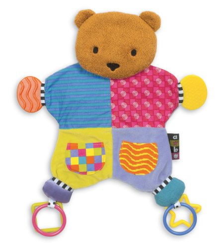 Kids Preferred Amazing Baby Blanket Teether Bear - 1