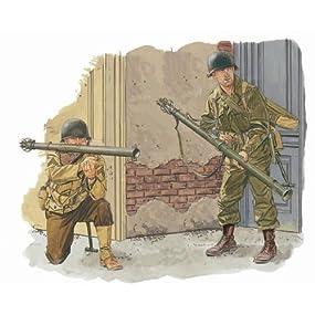 1/6 WW.II アメリカ軍 M1A1&M9A1バズーカ砲セット