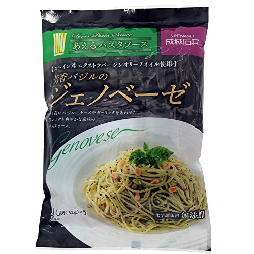 成城石井 化学調味料無添加 ジェノベーゼソース 5食