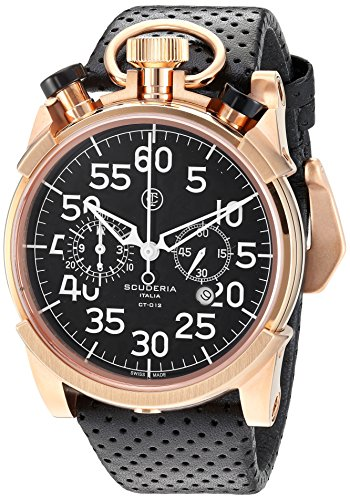 CT-Scuderia-Mens-CS20113-Corsa-Analog-Display-Swiss-Quartz-Black-Watch