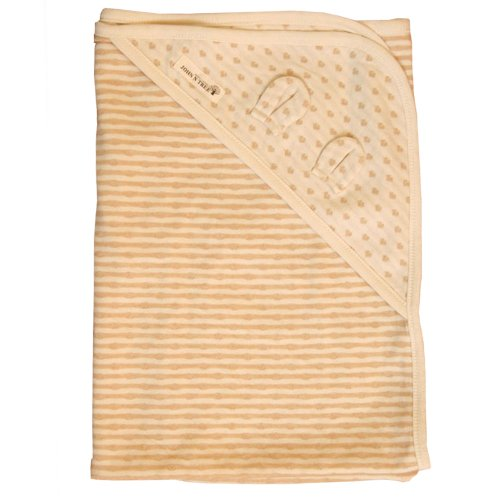 100% Organic Cotton Newborn Baby Swaddle Blanket Heart Style _ 1Pack (73Cm X 73Cm) front-475436