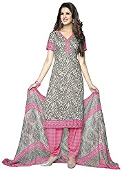 VSS Collections Women's Synthetic Unstitched Dress Material(1078,Multi-Color)