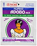 NOH Filipino Adobo, 1 1/8 -Ounce Packet, (Pack of 12)