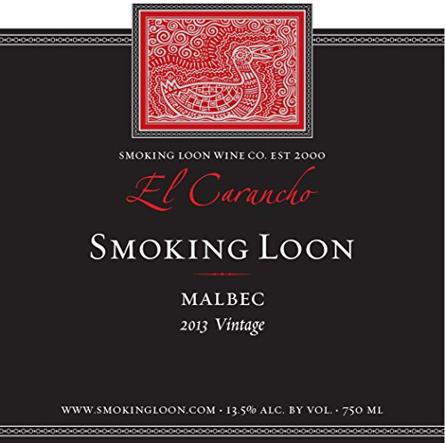 2013 Smoking Loon El Carancho Malbec 750 Ml