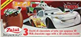 2 Boxes (6 Eggs) Disney Pixar Cars Chocolate Surprise inside, Free Gift