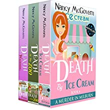 A Murder In Milburn Box Set 2, Books 4-6: A Culinary Cozy Mystery Box Set With Recipes Audiobook by Nancy McGovern Narrated by Renee Brame