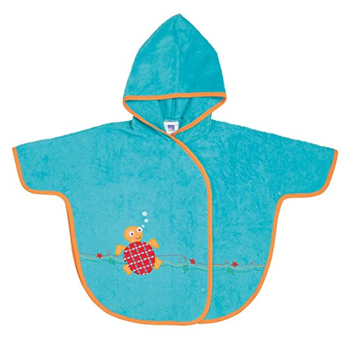 Bambino Mio Hooded Poncho Towel, Under the Sea - 1