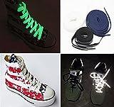 Shop XJ 靴 ひも 蛍光 反射 ベーシック 3本セット 120cm (A)