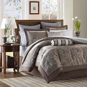 Aubrey 12 Piece Comforter Set Size: King