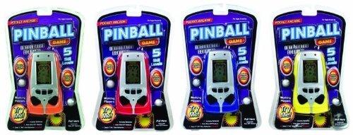 Pocket Arcade Pinball Game-Various Colors - 1