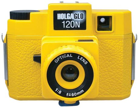 Buy Cheap Holga Holgaglo 120 Camera - Solar Yellow