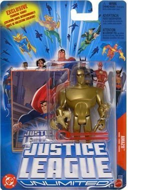 "AMAZO JUSTICE LEAGUE UNLIMITED 4.5"" POSEABLE ACTION FIGURE - 1"