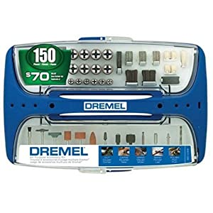 Dremel 697-06 150-Piece Rotary Tool Super-Accessory Assortment