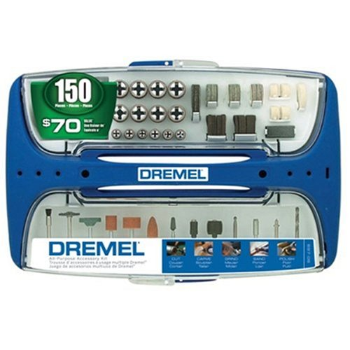 Buy Dremel 697-06 150 Piece Rotary Tool Super Accessory Assortment