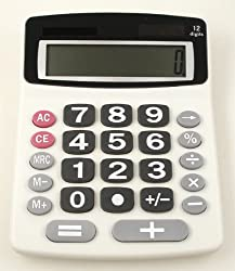 Jumbo 12-Digit Desktop Calculator
