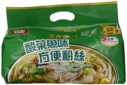 Baijia Instant Noodles, Artificial Pickled Cabbage Fish Flavor, 19.4 Ounce (Pickled Cabbage Chinese compare prices)