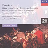 Kodály: Háry János Suite, Dances of Galánta, Peacock Variations, Summer Evening, Symphony in C etc