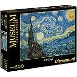 Clementoni Puzzle 30314 - Van Gogh - Notte Stellata - Museum 500 pezzi