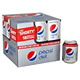 Diet Pepsi 18 x 250ml Mini Cans