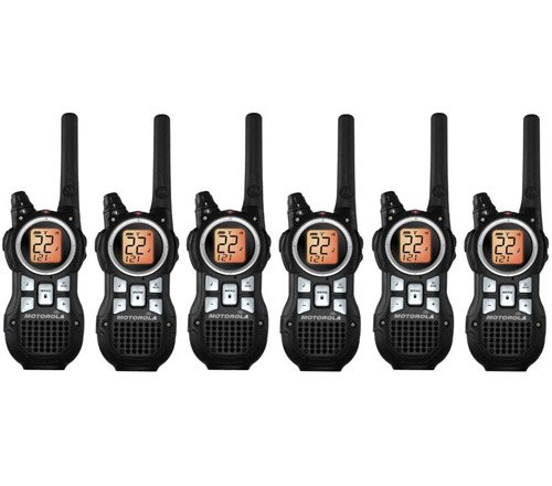 Motorola MR350R Talkabout FRS/GMRS Two Way Radio (6-Pack)