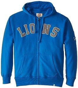 NFL Detroit Lions Mens Striker Full Zip Jacket by