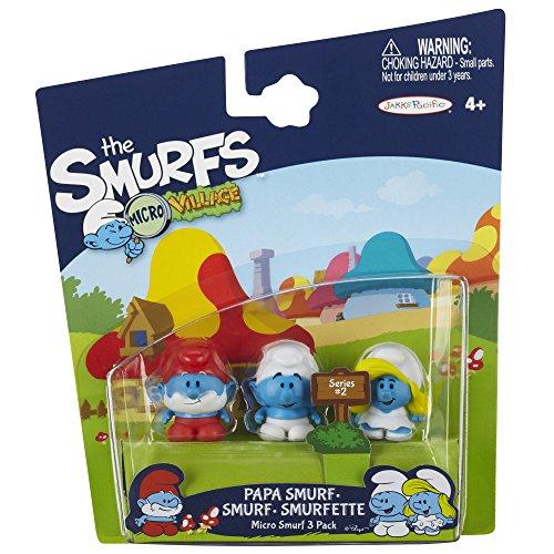 SMURFS 2 Micro Figure 3 Pack: Smurf, Papa Smurf, Smurfette