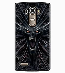 ColourCraft Scary Image Design Back Case Cover for LG G4