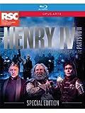 Shakespeare:Henry IV 1 & 2 [Jasper Britton; Antony Sher; Alex Hassell; Trevor White; Sean Chapman; Youssef Kerkour; Elliot Barnes-Worrell] [OPUS ARTE: BLU RAY] [Blu-ray] [2015]