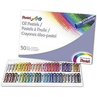Pentel Arts Oil Pastels 50 Color Set (PHN-50)