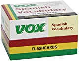 img - for VOX Spanish Vocabulary Flashcards book / textbook / text book