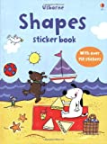 Shapes (Usborne First Sticker Books)