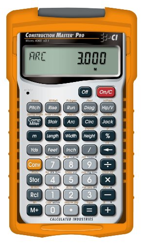 Construction Master Pro (handheld) - Calculated Industries - RC-CI4065 - ISBN: B0007Q3RGQ - ISBN-13: 0098584040659