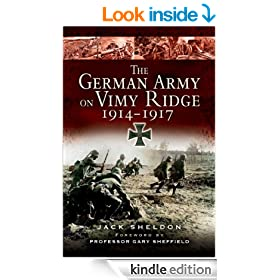 German Army on Vimy Ridge 1914 - 1917