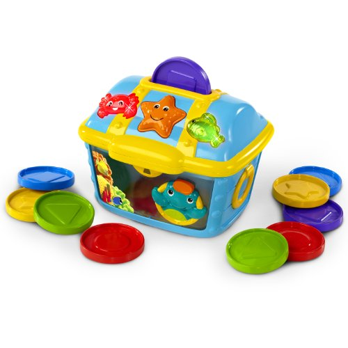 Baby Einstein Count and Discover Treasure Chest