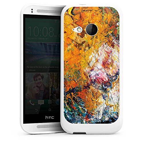 htc-one-mini-2-hulle-silikon-case-schutz-cover-olfarbe-malerei-muster