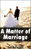 img - for A Matter of Marriage book / textbook / text book