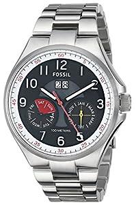 Fossil Men's ME3051 Analog Display Analog Quartz Silver Watch