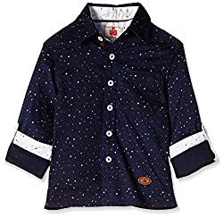 UFO Boys' Shirt (AW16-WF-BKT-513_Navy_4 - 5 years)